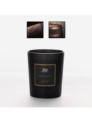 360wishes aromatinė žvakė | KUBIETIŠKAS TABAKAS IR ĄŽUOLAS