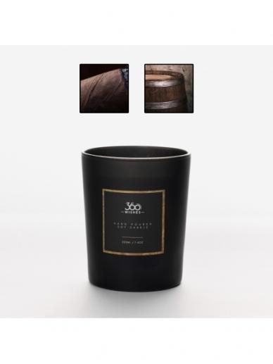 """360 WISHES aromatinė žvakė """"Kubietiškas Tabakas ir Ąžuolas"""""""