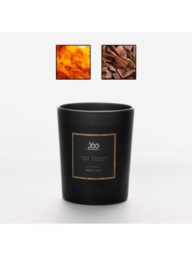 """360 WISHES aromatinė žvakė """"Tamsusis Gintaras"""""""