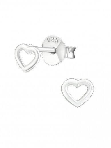 Auskarai | Mini širdelės