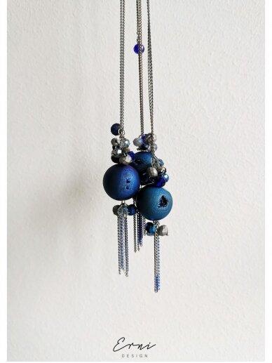 ErniDesign kaklo papuošalas | DUZY DEEP BLUE
