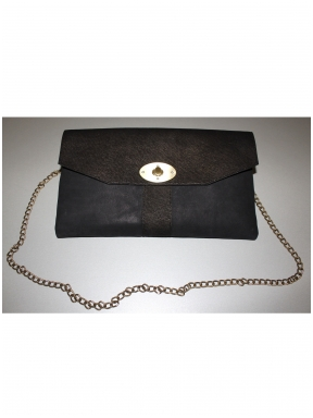 hIDe handbag Black Point