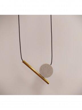 Kaklo papuošalas | Pilkas