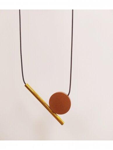 Kaklo papuošalas | Rudas 2