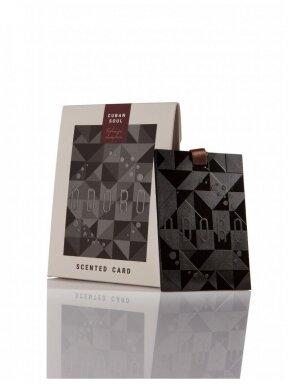 ODORO scented card   CUBAN SOUL