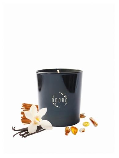 Odoro aromatinė žvakė AMBRA