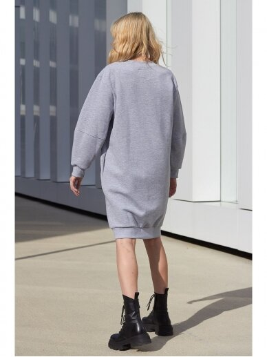Pilka laisvalaikio suknelė 4