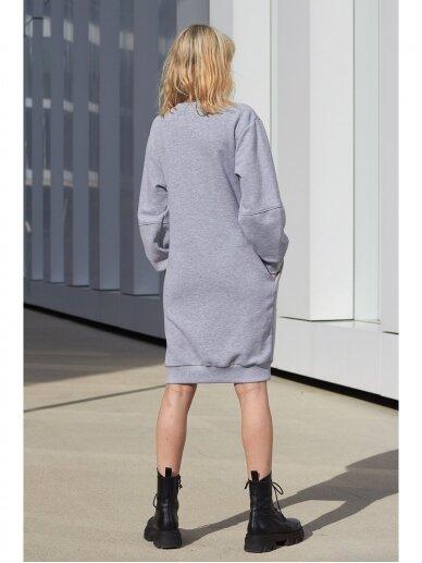 Pilka laisvalaikio suknelė 5
